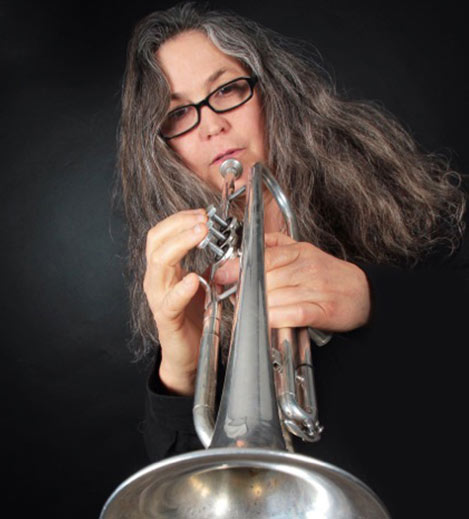 Rebecca Trumpet Player | Dana Marcine To The Horizon Album Band
